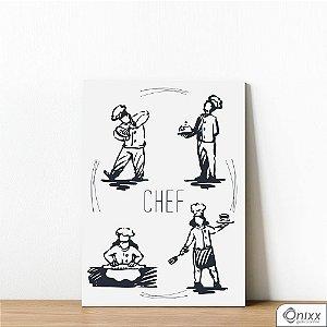 Placa Decorativa Chef