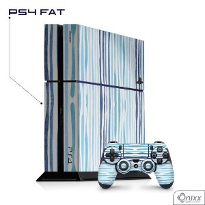 Skin PS4 Blue Stripes