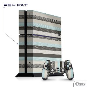 Skin PS4 Stripes
