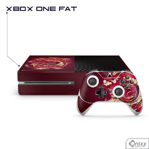 Skin Xbox Dragão Vermelho