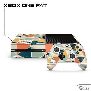 Skin Xbox Triângulos Coloridos