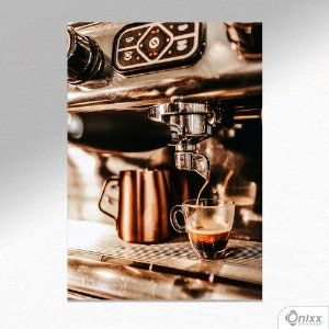 Placa Decorativa Coffee Machine A4