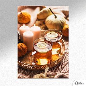 Placa Decorativa Beautyful Tea A4