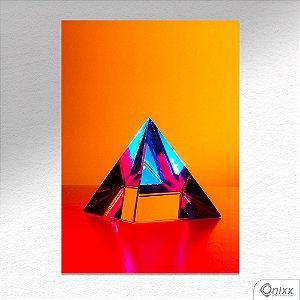 Placa Decorativa Colors N Prisma A4