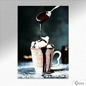 Placa Decorativa Beauty Coffee A4