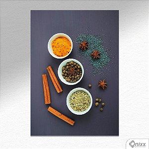 Placa Decorativa Texture Spices A4