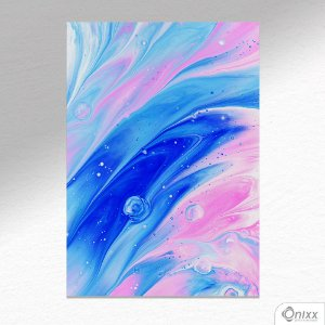Placa Decorativa Movement Of Colors In Waters A4