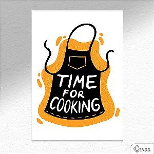 Placa Decorativa Série Cooking Colors ( Cooking ) A4