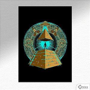 Placa Decorativa Uffo Iluminate A4