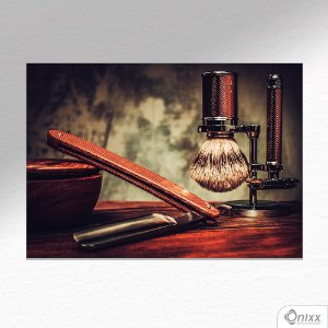 Placa Decorativa Barber Old A4