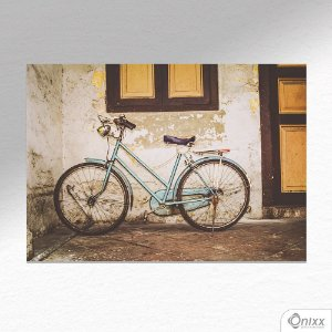 Placa Decorativa Bike Old Wall A4