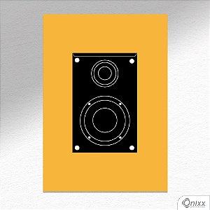 Placa Decorativa Série Sounds (Box Sounds ) A4