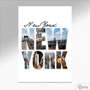 Placa Decorativa Flash´s New York A4