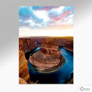 Placa Decorativa Grand Canion In The Sunset A4