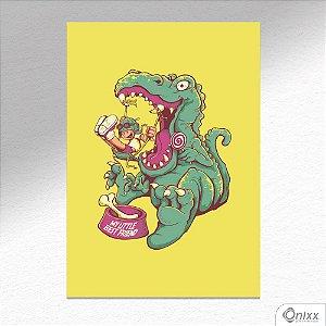 Placa Decorativa Dinossauro Amigo A4
