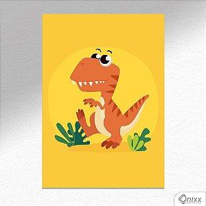 Placa Decorativa T-rex Triller A4