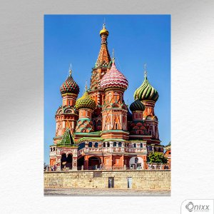 Placa Decorativa Cathedral Moscow A4