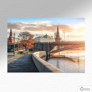 Placa Decorativa Moscow Kremlin A4