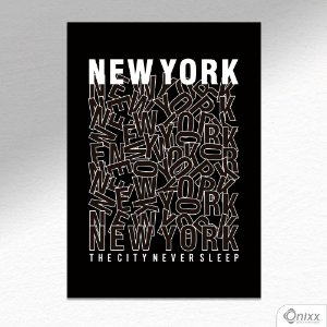 Placa Decorativa New York City A4