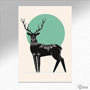 Placa Decorativa Série Natureza Artística ( Hart ) A4