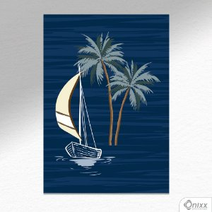 Placa Decorativa Boat A4