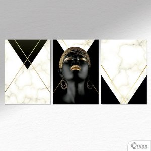 Kit De Placas Decorativas Ebony & Ivory A4