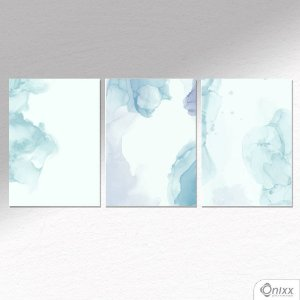 Kit de Placas Decorativas Aqua Love A4