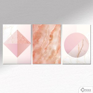 Kit de Placas Decorativas Delicate Form A4