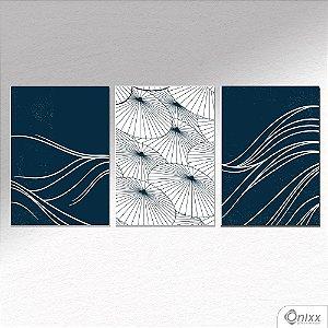 Kit de Placas Decorativas Wave  A4