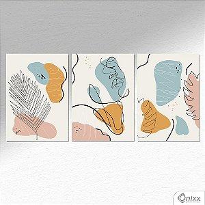 Kit de Placas Decorativas Beleza Tropical  A4