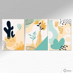 Kit de Placas Decorativas Nature  A4