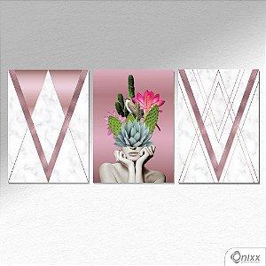 Kit de Placas Decorativas Concept V A4