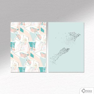 Kit de Placas Decorativas Tsuru Fly A4