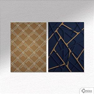 Kit de Placas Decorativas Lines A4