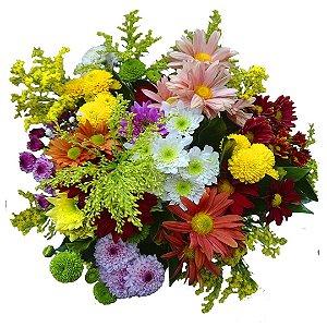 Buquê com Flores do Campo Especial