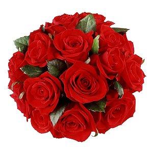 Buquê com Rosas Nacionais (14 Rosas)