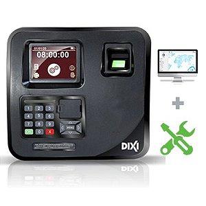 Relógio de Ponto Eletrônico Sindnox + Software + Assistência - Plano Mensal Combo