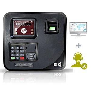 Relógio de Ponto Eletrônico Sindnox + Software Básico + Suporte + Assistência - Plano Mensal Combo