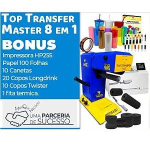 Kit Unica Top Master 8 em 1 + Impressora a Laser
