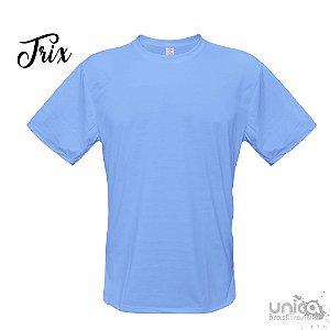 Camiseta Poliester - Azul Petroleo