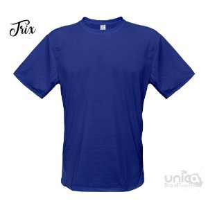 Camiseta Poliester - Azul Royal