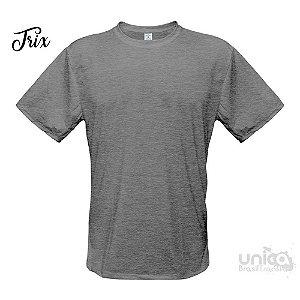 Camiseta Poliester - Cinza Mescla