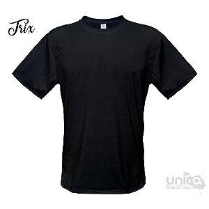 Camiseta Poliester - Preta