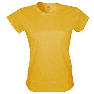 Babylook Poliester - Amarelo Girasol
