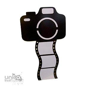 Porta Retrato MDF Lux Câmera Fotográfica
