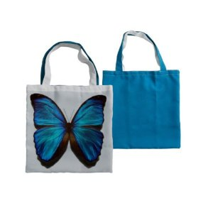Eco Bag 35x35 - Azul Claro