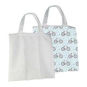 Eco Bag 35x35 Para Sublimação - Branco