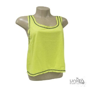 Cropped Poliester - Verde Lima