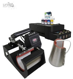 Prensa Deko 2 em 1 + Impressora