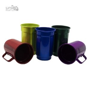 Caneca De Aluminio Colours - 750ml